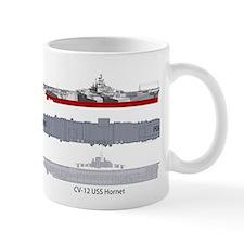 USS Hornet CV-12 CVS-12 Mug