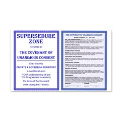 Supersedure & Covenant 22x14 Wall Peel