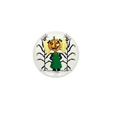 Jackie Lantern Mini Button