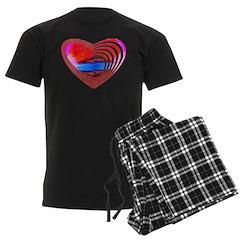 Heart Lines Pajamas