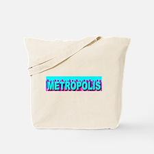 Metropolis Skyline Tote Bag