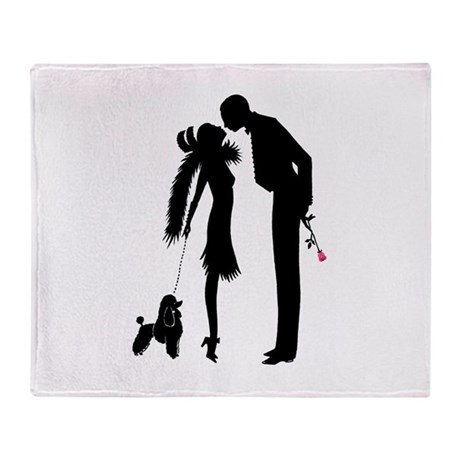 The Kiss Throw Blanket