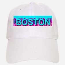 Boston Skyline Baseball Baseball Cap