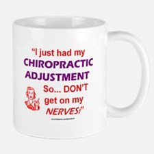 NICE GIFT! BIG Chiropractic Adjustment MUG Gift