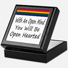 Open Mind Open Hearted Keepsake Box