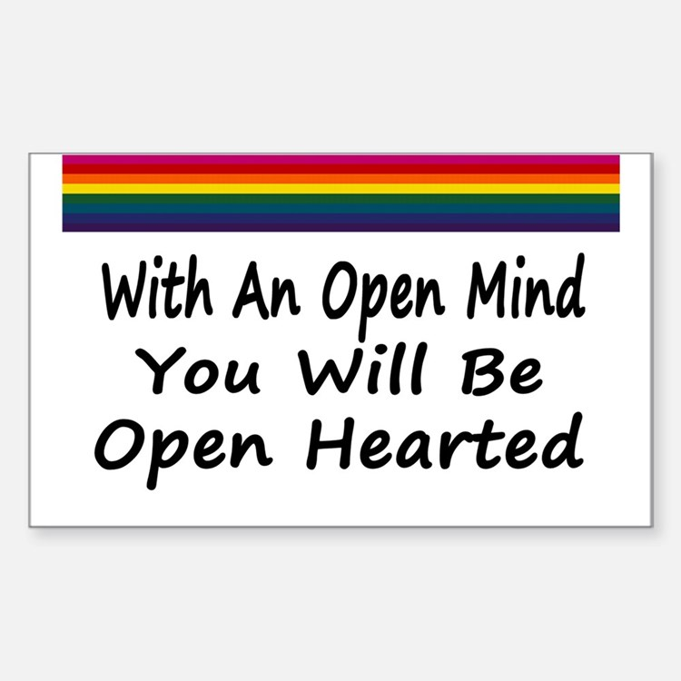 Open Mind Open Hearted Decal