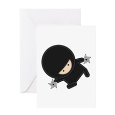 NINJA Greeting Card