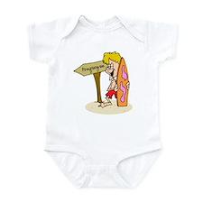 Ponquogue Beach Infant Bodysuit