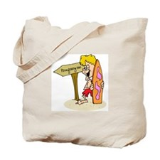 Ponquogue Beach Tote Bag