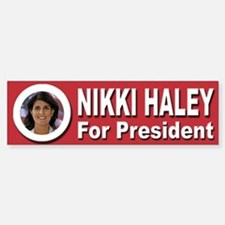 Nikki Haley for President Bumper Bumper Sticker