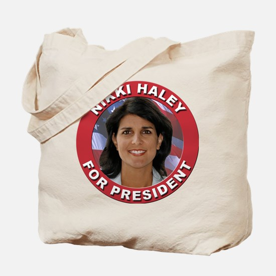 Nikki Haley for President Tote Bag