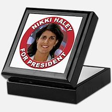 Nikki Haley for President Keepsake Box