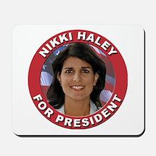 Nikki Haley for President Mousepad