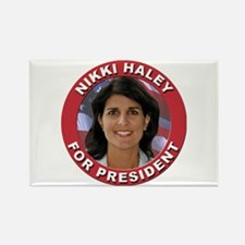 Nikki Haley for President Rectangle Magnet
