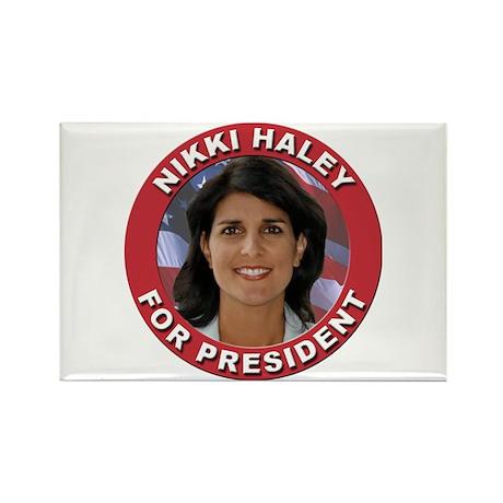 Nikki Haley for President Rectangle Magnet (100 pa