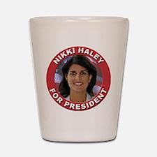 Nikki Haley for President Shot Glass