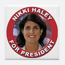 Nikki Haley for President Tile Coaster