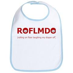 ROFLMDO Bib (with doodles)