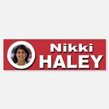 Nikki Haley Bumper Bumper Sticker