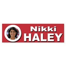 Nikki Haley Bumper Sticker