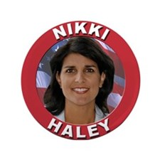 "Nikki Haley 3.5"" Button"