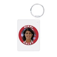 Nikki Haley Aluminum Photo Keychain