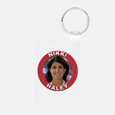Nikki Haley Aluminum Photo Keychain