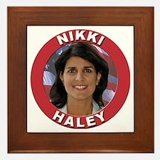 Nikki Haley Framed Tile