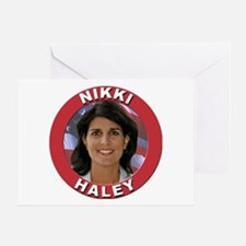 Nikki Haley Greeting Card