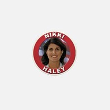 Nikki Haley Mini Button