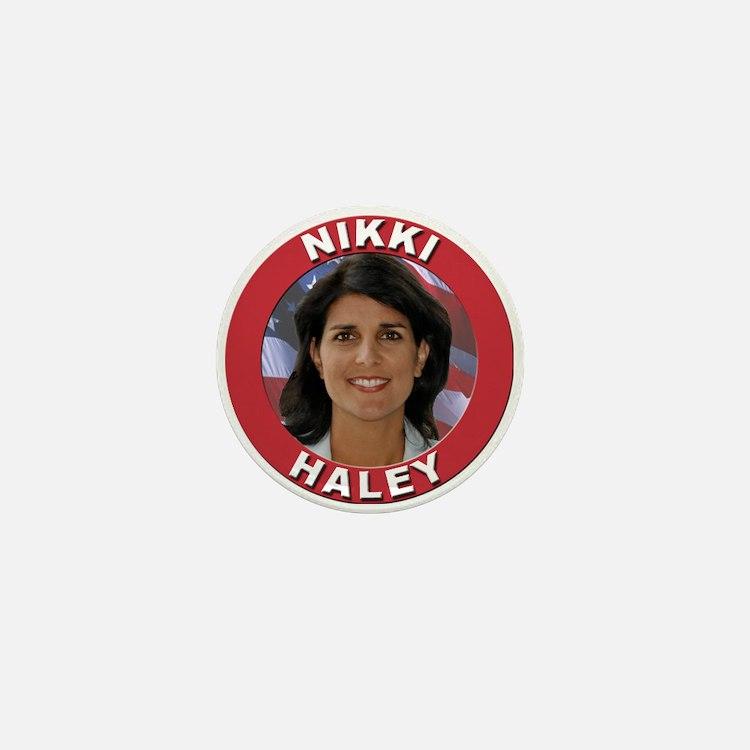 Nikki Haley Mini Button