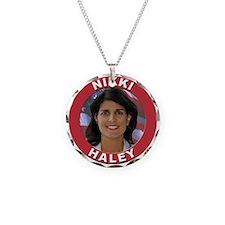 Nikki Haley Necklace Circle Charm