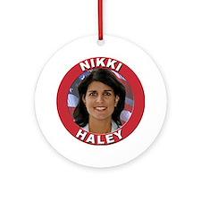 Nikki Haley Ornament (Round)