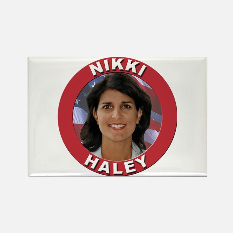 Nikki Haley Rectangle Magnet