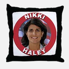 Nikki Haley Throw Pillow