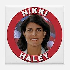 Nikki Haley Tile Coaster