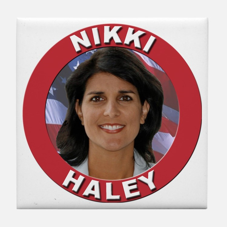 Nikki Haley Tile Coaster