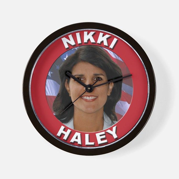 Nikki Haley Wall Clock