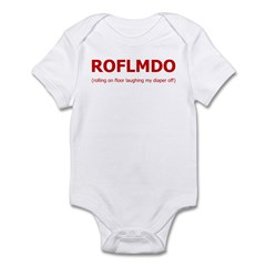 ROFLMDO Onesie (Plain)