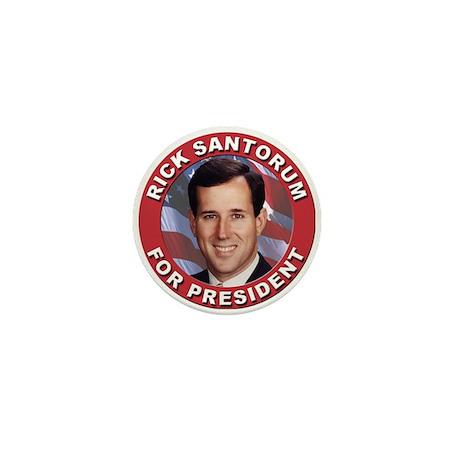 Rick Santorum for President Mini Button (100 pack)