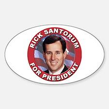 Rick Santorum for President Decal