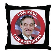Ron Paul for President Throw Pillow