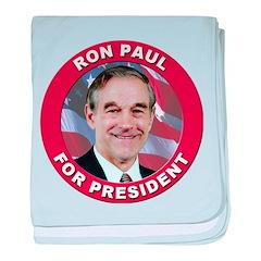 Ron Paul for President baby blanket