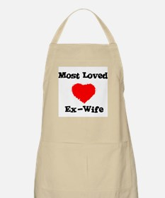 Most Loved Ex-Wife BBQ Apron