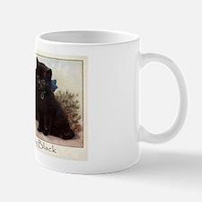 Cute Purrfectly Black Kittens Coffee Mug