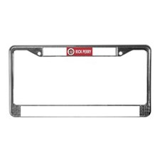 Rick Perry License Plate Frame