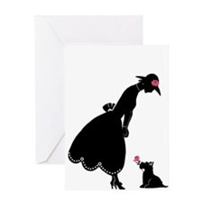 Scottie and Rose Greeting Card