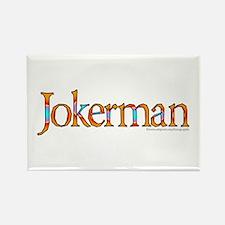 Jokerman/Bob Dylan Rectangle Magnet (10 pack)