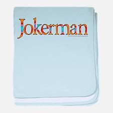 Jokerman/Bob Dylan baby blanket