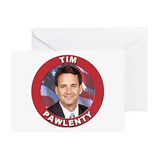 Tim Pawlenty Greeting Card